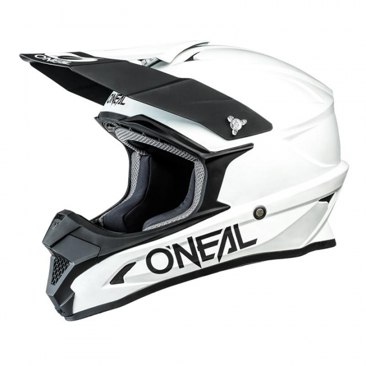 Oneal 1SRS Helmet Solid White